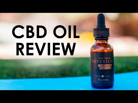 CBD Oil Review — Superior CBD Hemp Oil HoneyColony