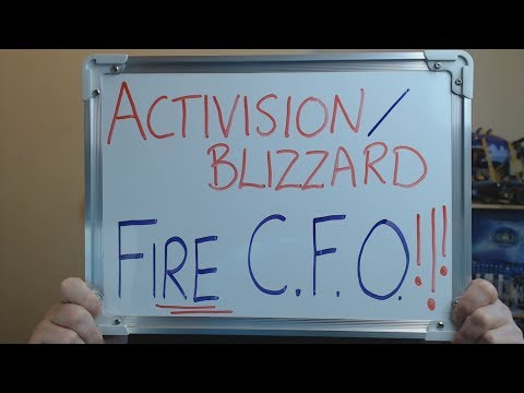 Activision/Blizzard FIRE C.F.O (Chief Financial Officer) Bef