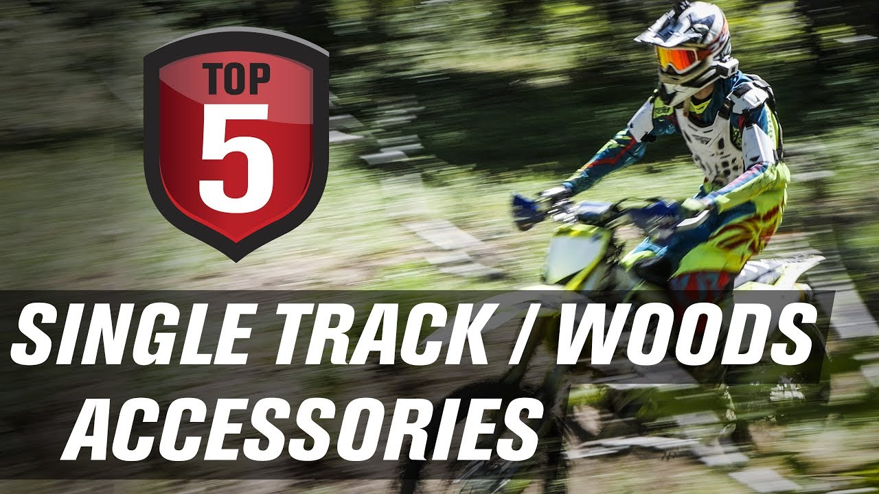 Motocross Garage Accessories Top 5 Motorcycle Single Track And Woods Accessories