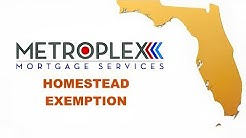 How does the Florida Homestead Exemption work?