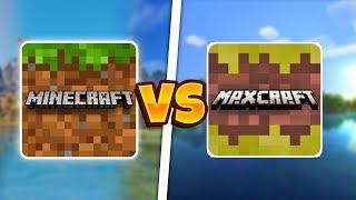 M NECRAFT POCKET ED T ON VS MAX CRAFT MCPE ПРОТИВ MAX CRAFT