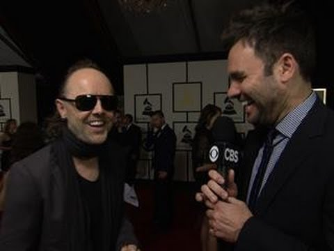 56th Grammy Awards - Lars Ulrich Interview