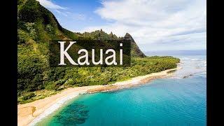 Kauai Aerial Video of Paradise [4K]