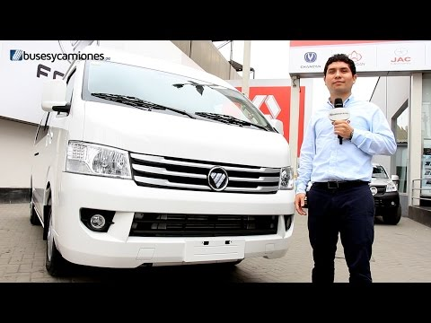 Foton View K1 2014 l Video en Full HD l Presentado por BUSESYCAMIONES.pe