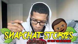 The First Time I Got High | Snapchat Stories