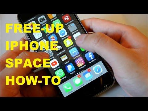 EASIEST IPHONE HACK to Free Up Storage Space
