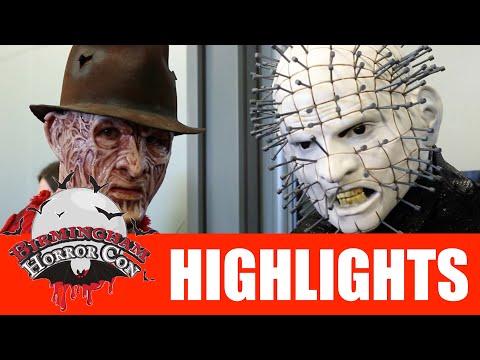 Birmingham Horror Con Highlight Video