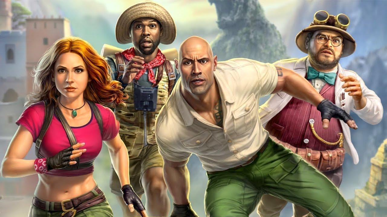 Download ► Jumanji: The Video Game - The Movie   All Cutscenes (Full Walkthrough HD)