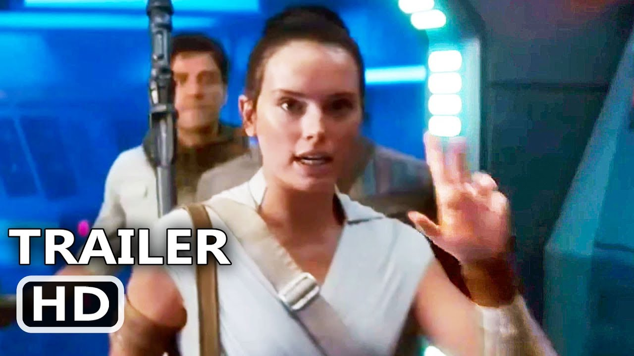 Star Wars 9 Rey Uses Jedi Mind Trick Trailer New 2019 The Rise Of Skywalker Movie Hd Youtube