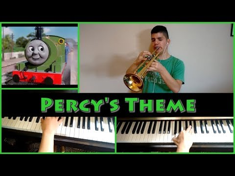 Thomas and Friends  - Percy's Theme (Trumpet and Piano cover)