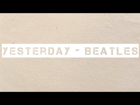 Yesterday - Beatles (Acoustic Cover)