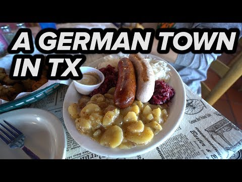 GERMAN TOWN IN TEXAS