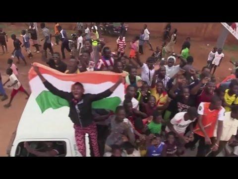 Niger, Le retour au pays d'Abdoul Razak Alfaga médaillé olympique aux JO 2016