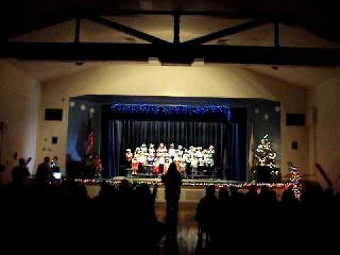 Navidad en la Christopher Dena Elementary School part #1