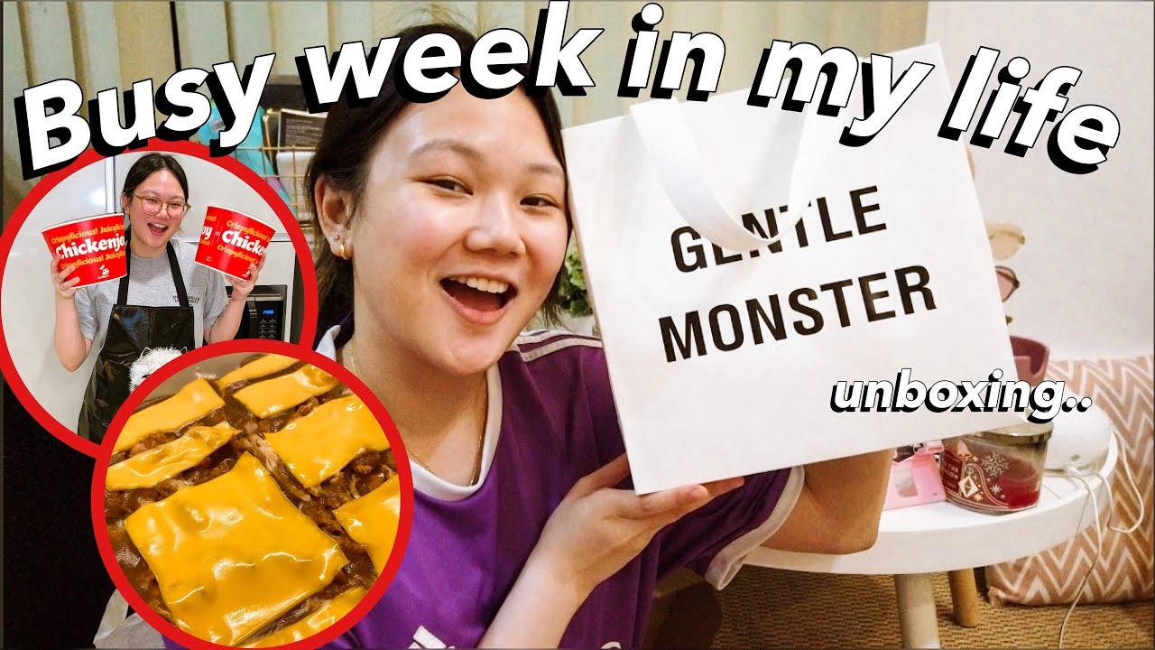 BUSY WEEK: UNBOXING PACKAGES, WORK, JOLLIBEE CHICKEN BAKE?! | ASHLEY SANDRINE