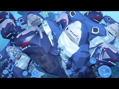 Minecraft   Morph Hide and Seek - Jaws Shark Attack Prison! (Atlantis Roleplay)
