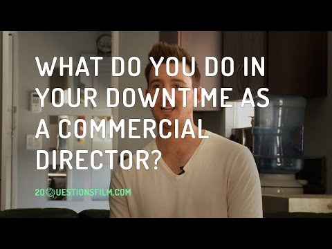 What Do You Do In Your Downtime As A Commercial Director?