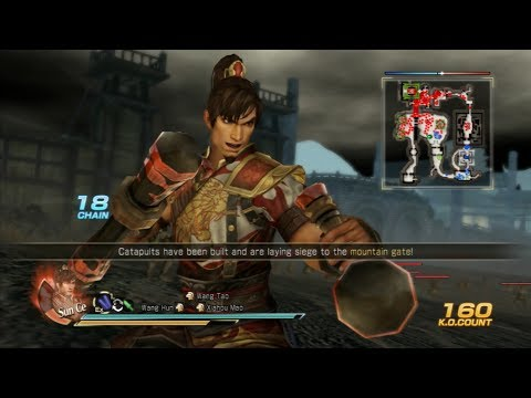 Dynasty Warriors 8: Xtreme Legends - Sun Ce 6 Star Weapon Guide