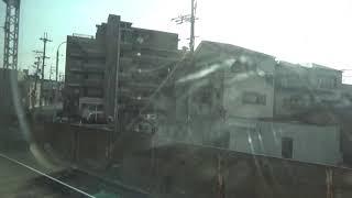 近鉄21000系 モ21306 名阪特急アーバンライナー大阪難波⇒近鉄名古屋間の車窓