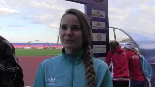 Валерия Федюшкина, бег, 800 м, 2-ое место