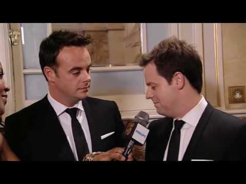 Anthony McPartlin & Declan Donnelly BAFTA - TV Awards winners