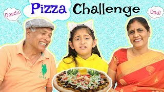 PIZZA CHALLENGE feat. Dadi & Dadu | #Family #Fun #Kids #Comedy #MyMissAnand