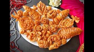 বিয়ে/হলুদের ডালা সাজানোর ৭ রকম পিঠা || Bangladeshi Pitha || Biyer pitha || Shiter Pitha- 9
