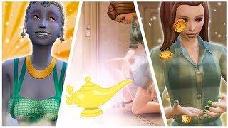 NUEVA CRIATURA SOBRENAUTAL: GENIOS!!!! 🧞 Los Sims 4 + (Cómo comprar estaciones a  25.40$)
