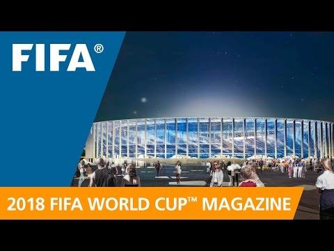 Russia 2018 Magazine: A beautiful, modern new stadium