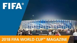 Russia 2018 Magazine: A beautiful, modern new stadium