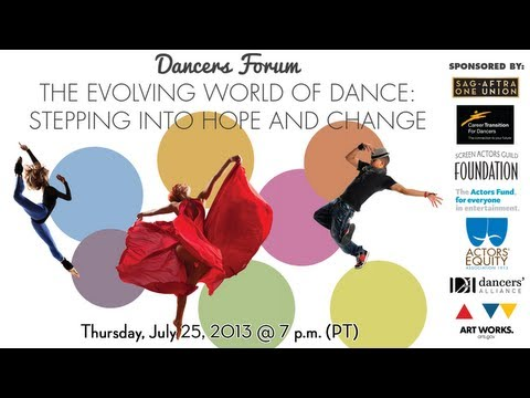 Dancer's Forum: The Evolving World of Dance - Discussion Panel