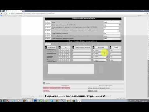 Заполнение формы 911.00. (Расчет стоимости патента 911.00) 2015 год