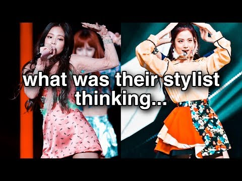 blackpink's most questionable stage outfits