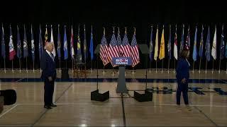Joe Biden & Kamala Harris Speak Together