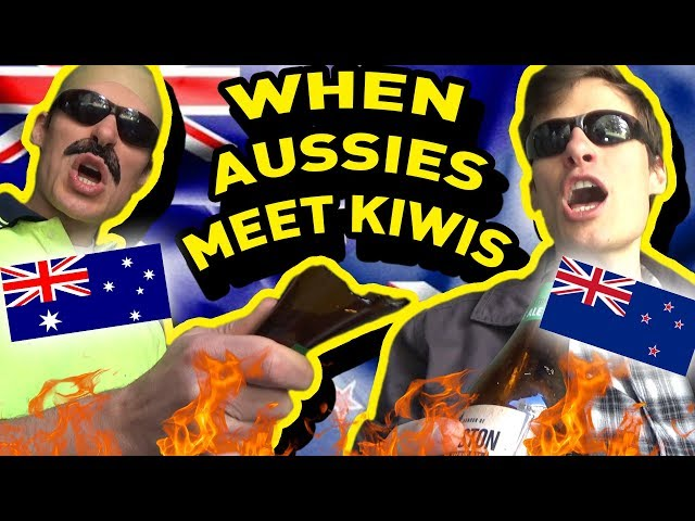 When Aussies Meet Kiwis