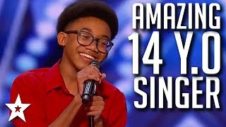 AMAZING Personality & Singing Voice on America's Got Talent 2020 | Got Talent Global