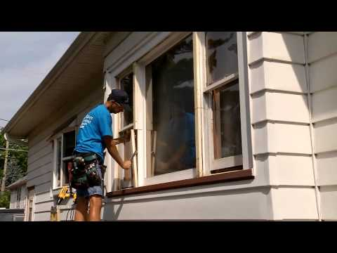 Changing Double Hung Picture Window to 3 Double Hung