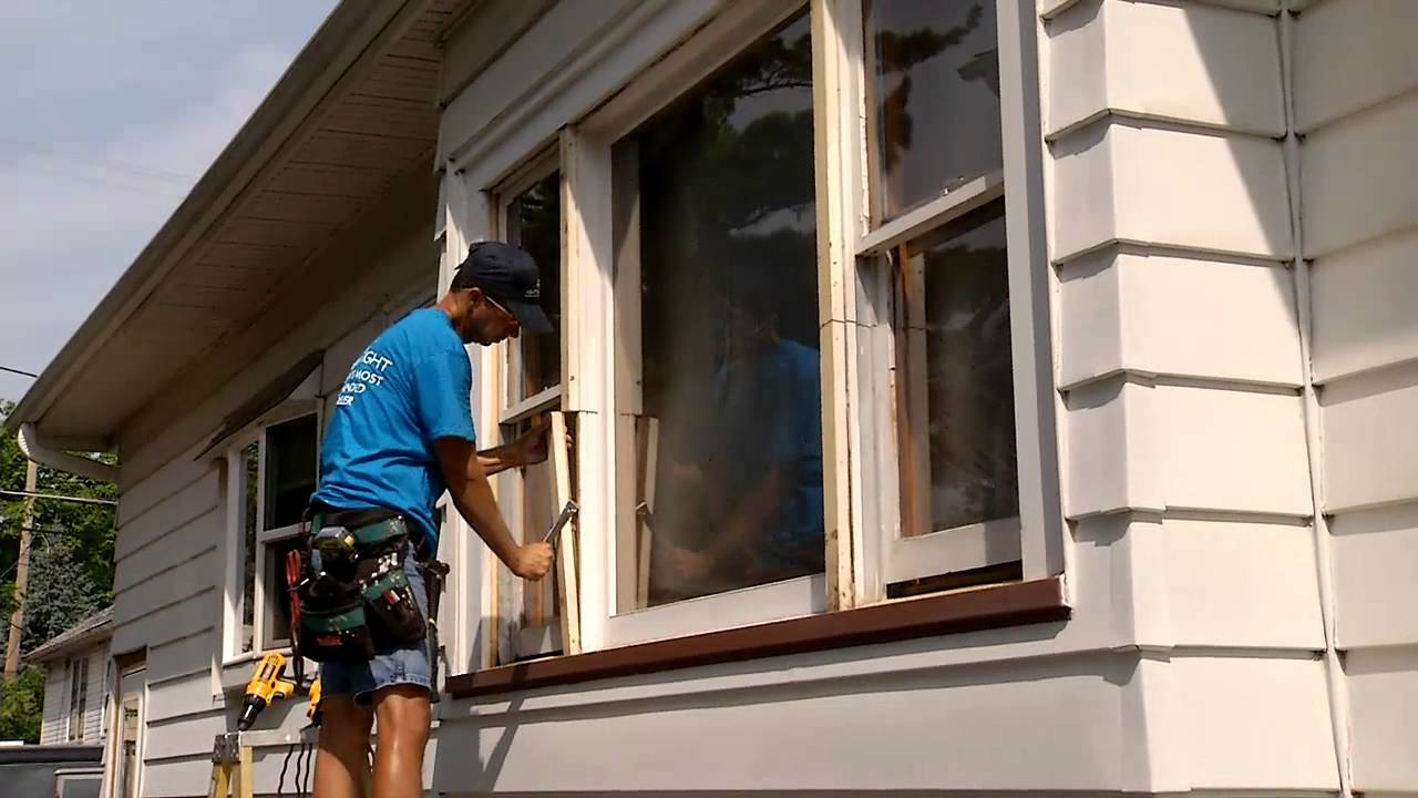 Changing Double Hung Picture Window To 3