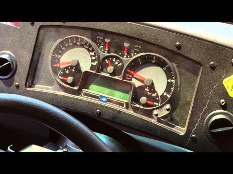 Blue Bird School Bus Dash Button for Alarm | MacAllister