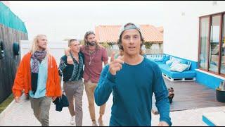 Surfing & Goodtimes på Lapoint Portugal med Danny Saucedo, Jesper Tjäder & vänner - Episode 2