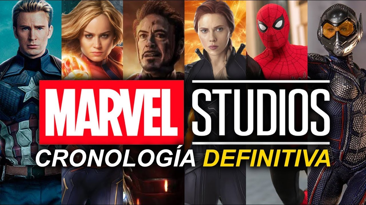 Download Cronologia Marvel Studios 2019 - Orden cronologico de las peli�culas