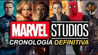 Cronologia Marvel Studios 2019 - Orden cronologico de las películas