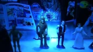 coleção de bonecos raros Star Wars anos 90
