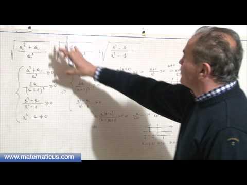 Espressione con radicali quadratici e condizioni di esistenza from YouTube · Duration:  13 minutes 39 seconds
