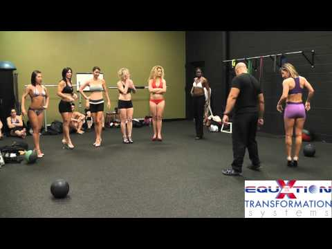 """Women's Figure Posing Presentation Walk January 2012 """"Fitness And Figure Competition"""""""