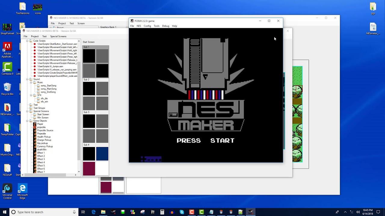 NESmaker 8 - (pi beta) Adding Sound Effects