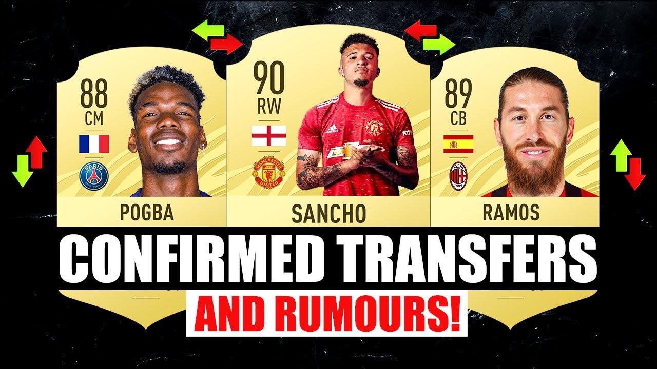 FIFA 22 | NEW CONFIRMED TRANSFERS & RUMOURS! 🤪🔥 ft. Sancho, Pogba, Ramos… etc