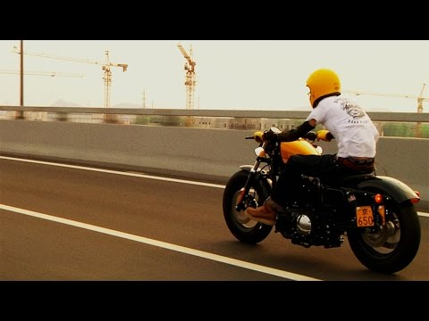 To Be Free - Harleys In Beijing - A Short Film, By Bill Politis