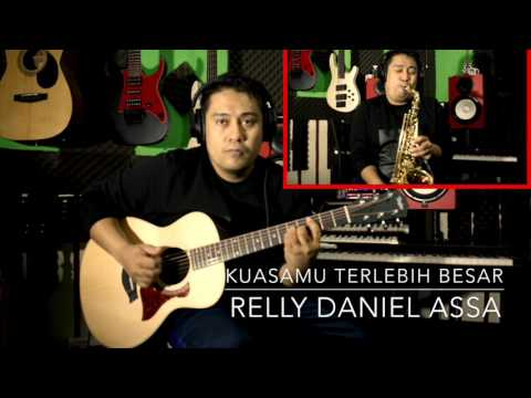KuasaMu Terlebih Besar - Acoustic version (guitar & saxophone cover)