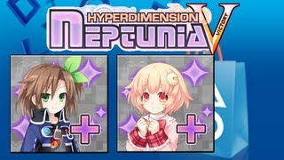 Hyperdimension Neptunia Victory IF & Compa DLC Events with Makers